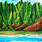 Nāpali Coast  by WhiteDove Studio kj gordon
