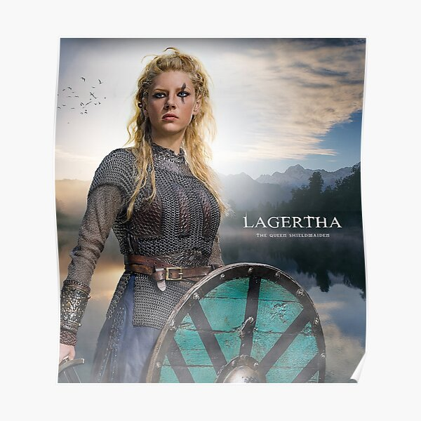 Lagertha Vikings Poster