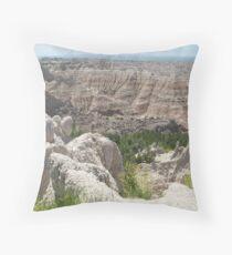 Badlands Collection 2009 Throw Pillow
