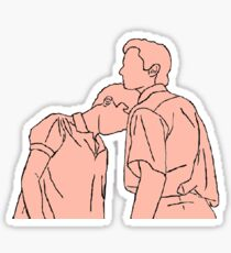 CALL ME BY YOUR NAME OUTLINE Sticker
