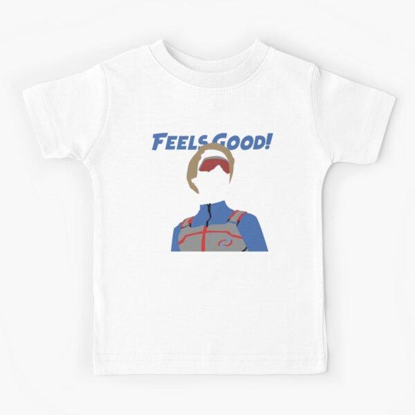 Kid Danger Silhouette - ¡Se siente bien! Camiseta para niños