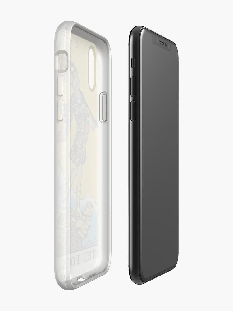 Alternative Ansicht von Der Narr Tarot iPhone-Hülle & Cover