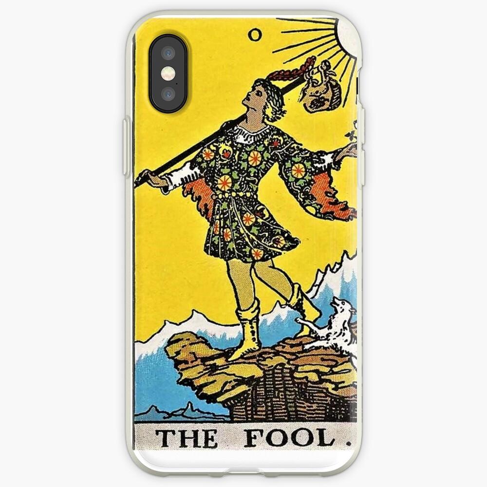 Der Narr Tarot iPhone-Hülle & Cover