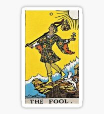 The Fool Tarot Sticker