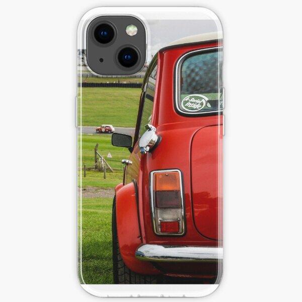Klassisches Mini Rot iPhone Flexible Hülle