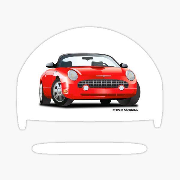 2002-2005 Ford Thunderbird Sticker