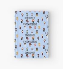So that's what she became Hardcover Journal