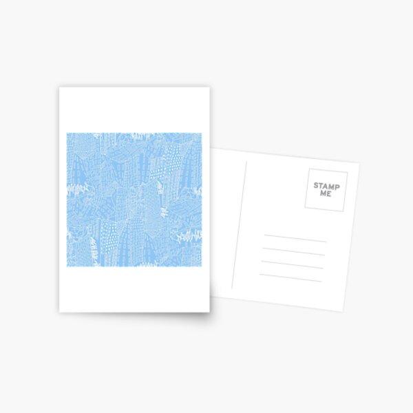 blue city Postcard
