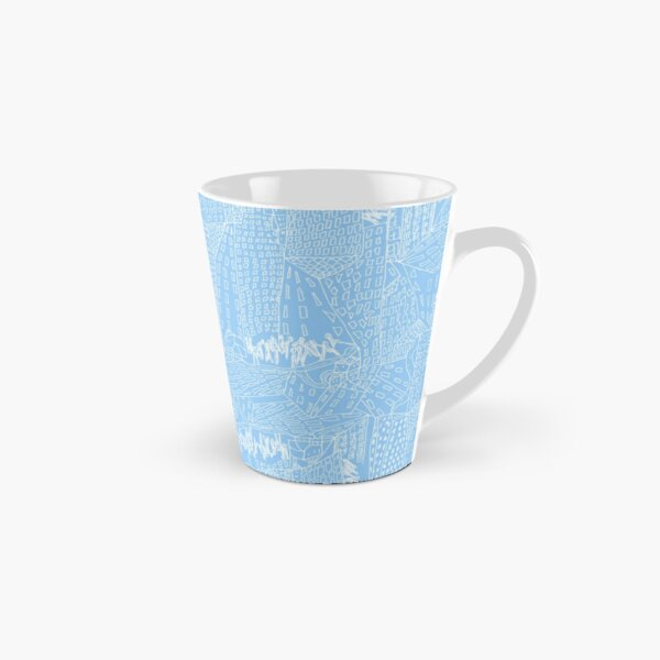 blue city Tall Mug