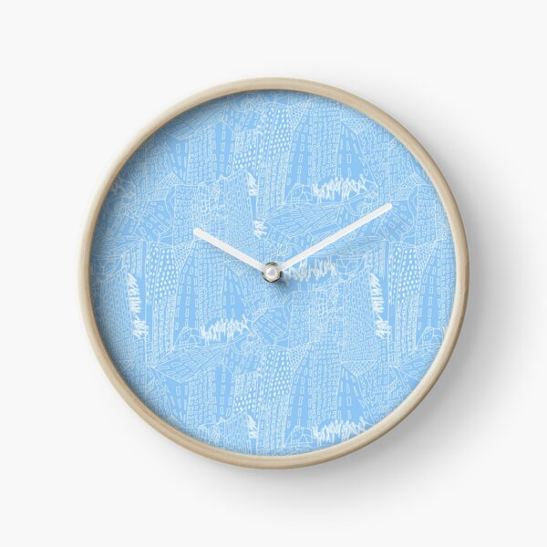 blue city Clock