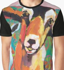 Goat Take-Off Graphic T-Shirt