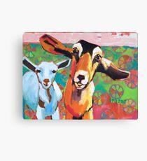 Goat Take-Off Canvas Print
