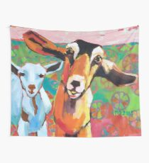 Goat Take-Off Wall Tapestry