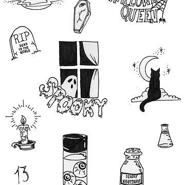Halloween Flash Sheet by kaelynnmara