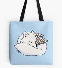 Snowy Enfield  Tote Bag