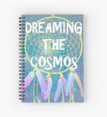 Dreaming the Cosmos Spiral Notebook