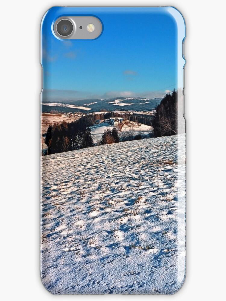 Hiking through winter wonderland II   landscape photography by Patrick Jobst