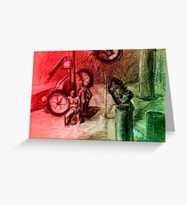 Giro d'italia 1 Greeting Card