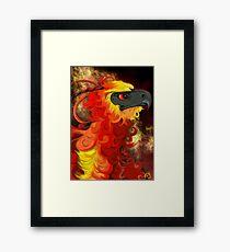 Fawkes Framed Print