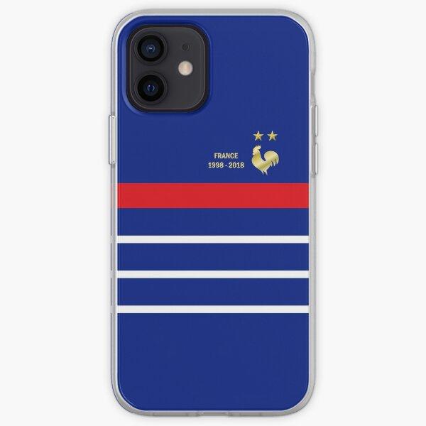 France championne 2 étoiles bis Coque souple iPhone