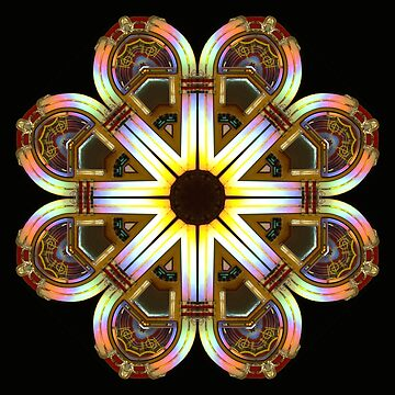 Jukebox Kaleidoscope by Francesa