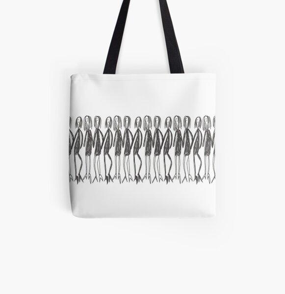 Ladies in black All Over Print Tote Bag