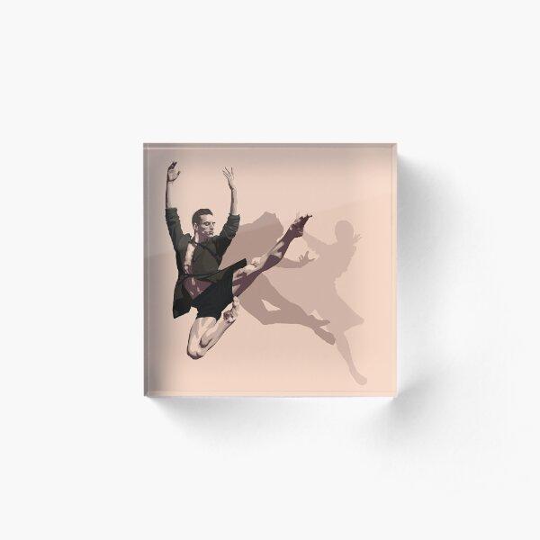 Sergei Polunin Acrylic Block