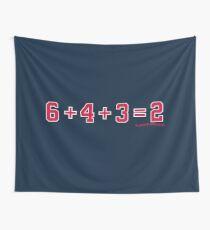 6+4+3=2: Atlanta Wall Tapestry