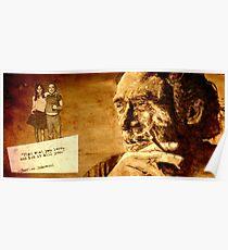 Charles Bukowski - love version Poster