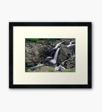 Mclaren falls, Tauranga Framed Print