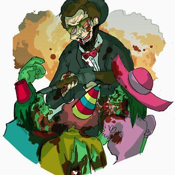 Abe, Zombie Hunter by selecko