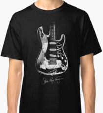 Camiseta clásica Stevie Ray Vaughan - Guitarra-Blues-Rock-leyenda-SRV
