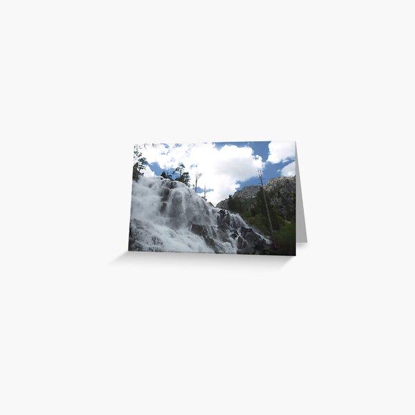 Eagle Falls II Greeting Card