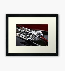 Chrome Lady Framed Print