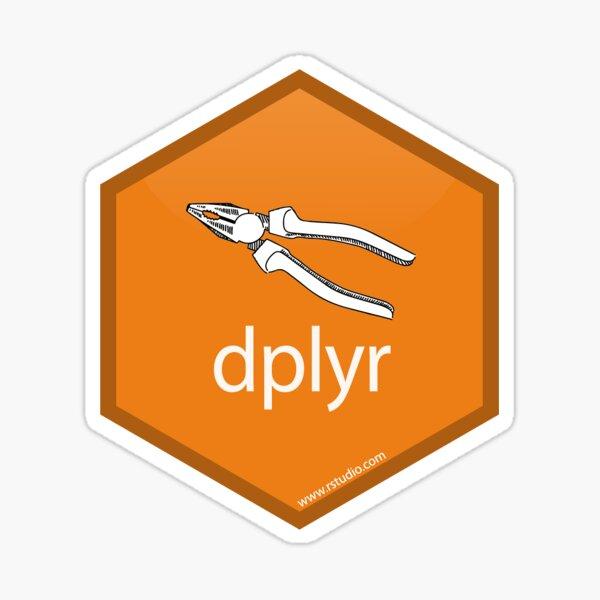 R Dplyr Logo Sticker
