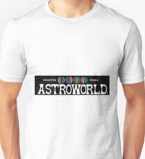 Camiseta unisex Astroworld logo