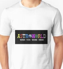 Astroworld wish you were here Unisex T-Shirt