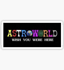 Astroworld wish you were here Sticker