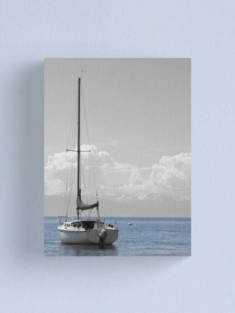 Alternate view of Tahoe Blew  Canvas Print