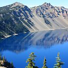 Reflections in Crater Lake by aussiedi