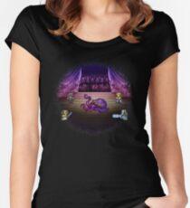 Octopus Opera Women's Fitted Scoop T-Shirt