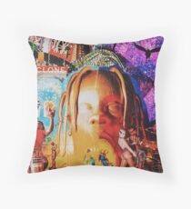Cover fan Astroworld Throw Pillow