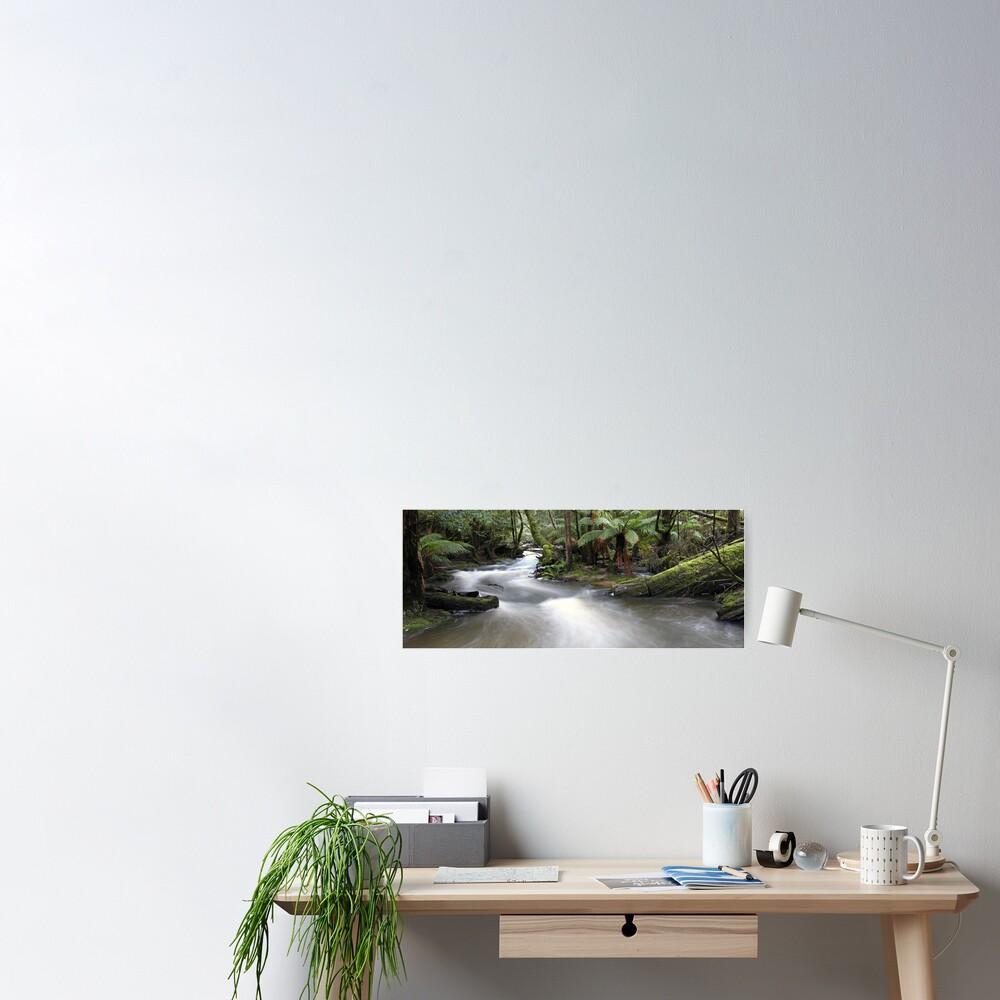 Russell Creek, Tasmania, Australia Poster