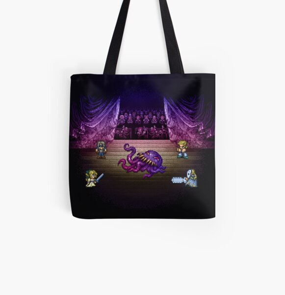 Octopus Opera All Over Print Tote Bag
