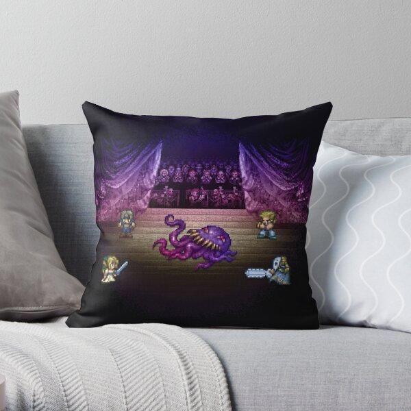 Octopus Opera Throw Pillow