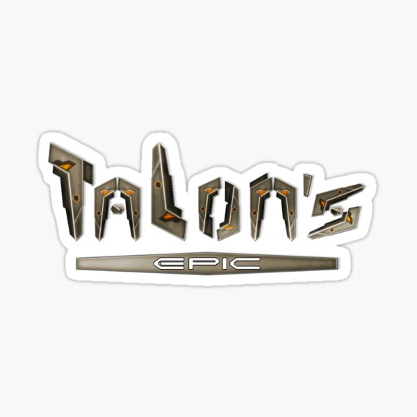 Talon's Epic Sticker
