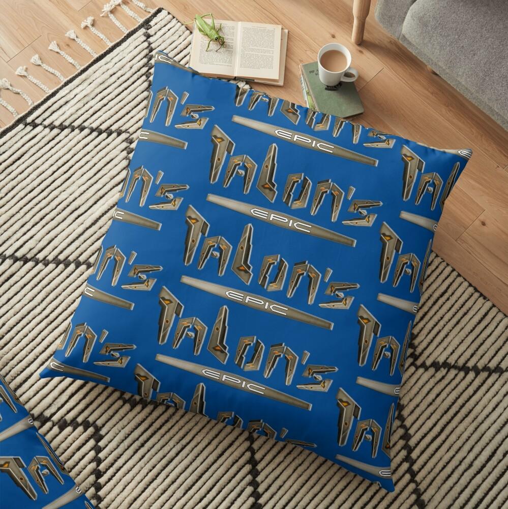 Talon's Epic Floor Pillow