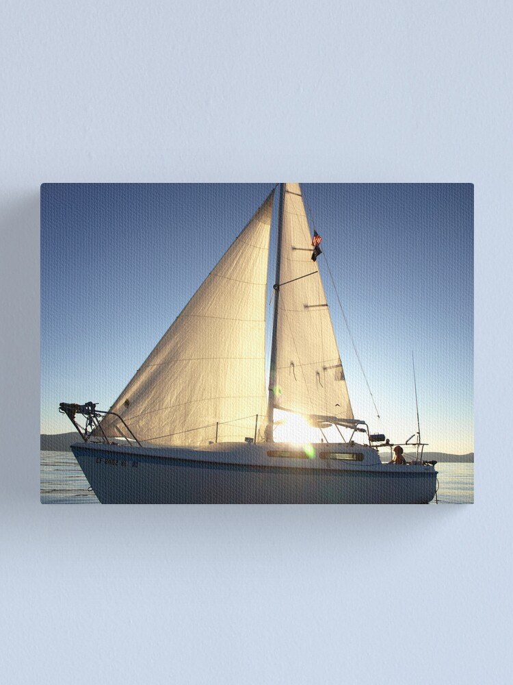 Alternate view of Tahoe Tranquility Canvas Print