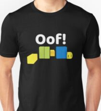 Roblox Oof! Gaming-Noob Slim Fit T-Shirt
