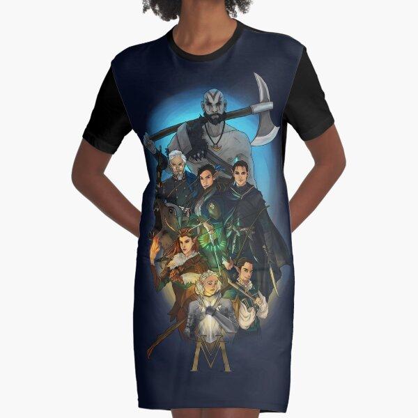 Vox Machina Graphic T-Shirt Dress